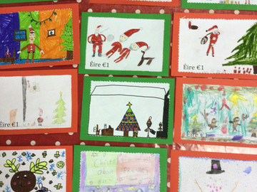 Postage Stamp Design in Ms.Gallagher's Class