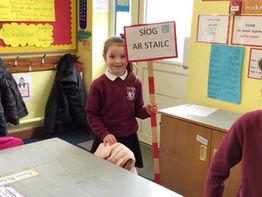 Seachtaine na Gaeilge i rang Ms.Gallagher