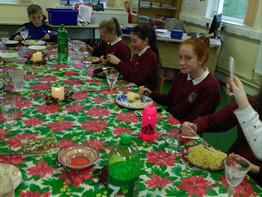 6TH Class Christmas Dinner