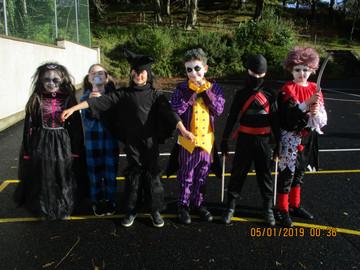 Mr.Regan's spooktacular dress up day