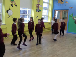 Ceili Dancing with Clement
