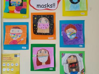 Mask Art 5th/6th Class