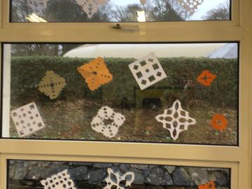 Snowflakes in Mr.Regan's class