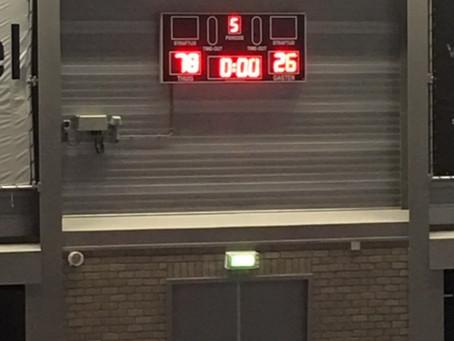 BASE U16 wint op zaterdag 19 september van BAS Biddinghuizen BASE