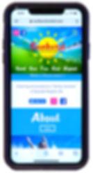 Sunburst Motel Website Design for Mobile Phone