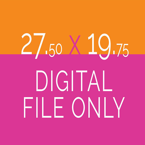 27.50 x 19.75 Digital File Only