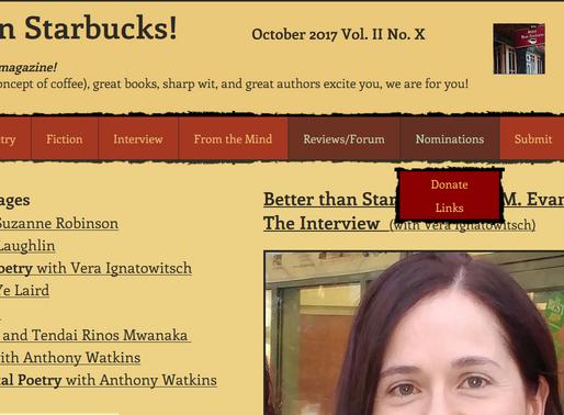 Haiku Published in Better Than Starbucks Literary Magazine