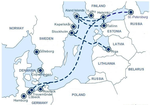 baltic map