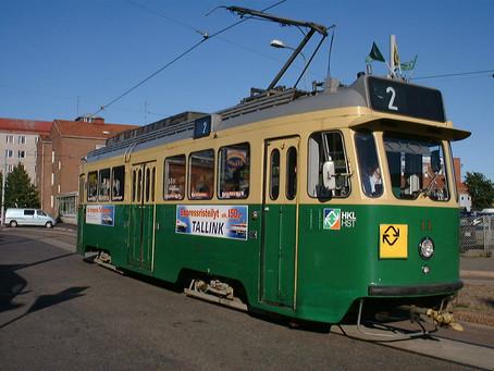 Helsinki Sightseeing - by Tram