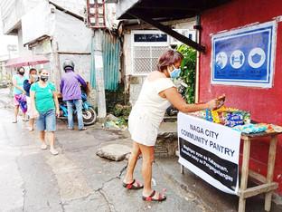 Community pantries pop up in Bicolandia