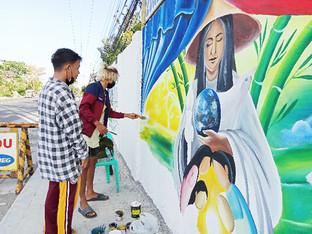 Murals depict evils of CPP-NPA-NDF