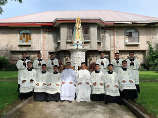12 seminarians invested with cassocks, recruitment for seminarians on