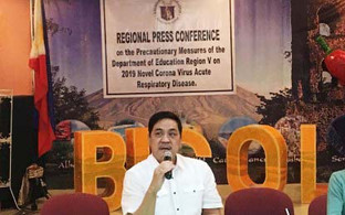 DepEd-Bicol suspends  events due to NCoV