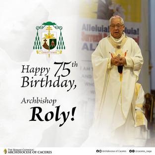 Caceres celebrates Archbishop's 75th birthday
