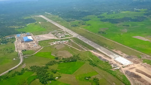 Go to tell DU30 on slow Bicol airport completion