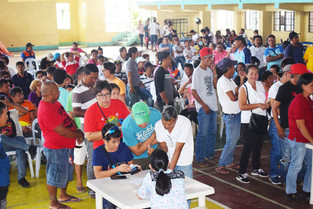SJ brgy officials blessed  with Palace cash gift