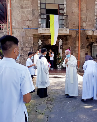 Archdiocese holds 3-in-1 event in Partido