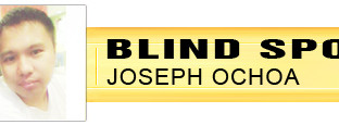 BLIND SPOT: Seeing through scholarly struggles