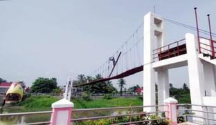 Camaligan hanging bridge to open soon