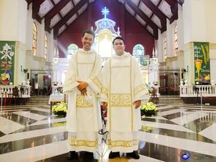 Tirona ordains two new deacons
