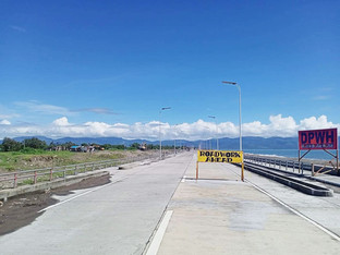 Partido boulevard attracts tourists