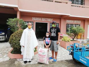 Caritas Caceres Supports Parish Community Pantries