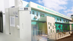 Bicol's Covid-19 testing center now inoperable