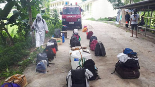 Sipocot Fire Station intensifies COVID-19 decon activities