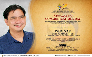 Caceres joins World Communications Day with a Webinar