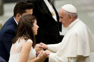 Pope Francis Releases Message on the Beauty of Marriage