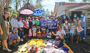 Rinconada area dinayo nin relief operations kan KC Metro Naga