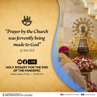 Rosary Marathon to end Covid in Caceres