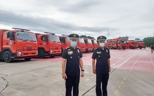 Fourteen Bicol municipalities  to get 18 units of firetrucks
