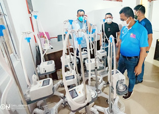 In covid-19 facilities: Naga to install high flow oxygen machines