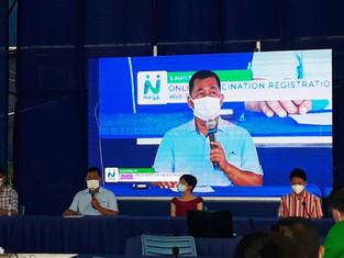 Naga conducts online vaccine registration