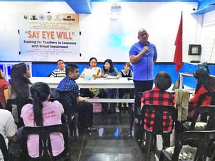 Naga's Resource Center trains teachers for the blind