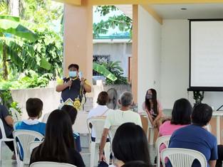 Meeting with Parish Ushers and Usherettes