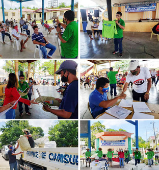 TUPAD Program provides emergency employment, PPE to over 450 beneficiaries in CamSur