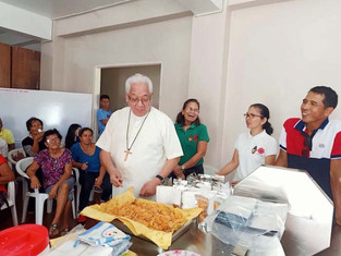 The Caritas Caceres thanks DTI