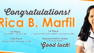 Bicolano student wins Asia Pacific contest