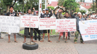 UPON MGB'S MINING CESSATION ORDER: Miners cry for subsistence