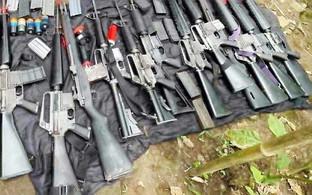 2 rebels killed, 12 guns seized in CamSur clash
