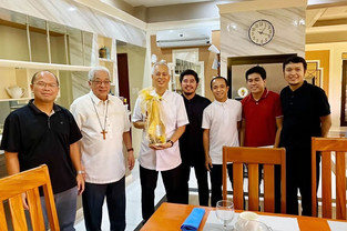 Four candidates for ordination complete 30-day Retreat