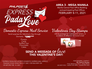PHLPost launches express Pada-Love on Valentine's Day