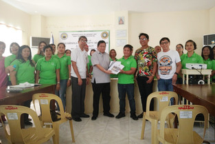 Magarao hilots' project NCF  Foundation Day awardee