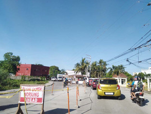 Road widening project