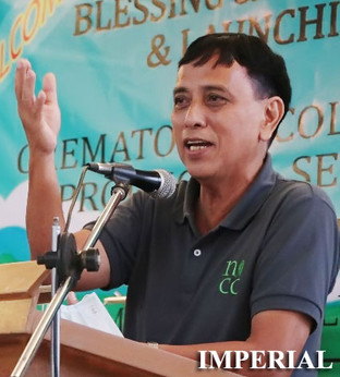 Imperials launch the first-ever columbary, crematory in Bicol