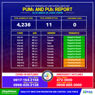 PUM and PUI Report