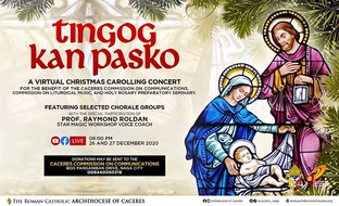 Caceres Holds Online Carolling