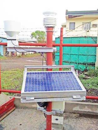 SRA equips planters with automatic weather station